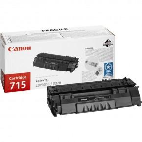 Canon 715 Black Original Toner Cartridge (1975B002AA)