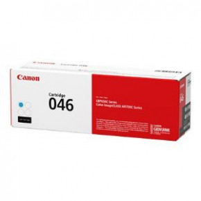 Canon 046 Cyan Original Toner Cartridge (1249C002)