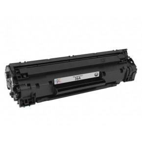 Justprint CB436A - Toner Cartridge Compatible To HP 36A Black