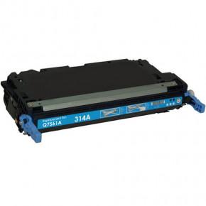 Justprint Q7561A - Toner Cartridge Compatible To HP Q7561A/314A Cyan