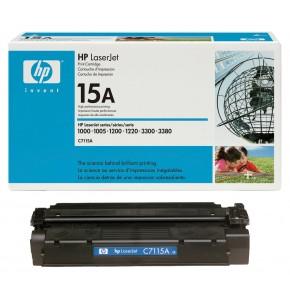 C7115A-HP 15A Black Original Toner Cartridge