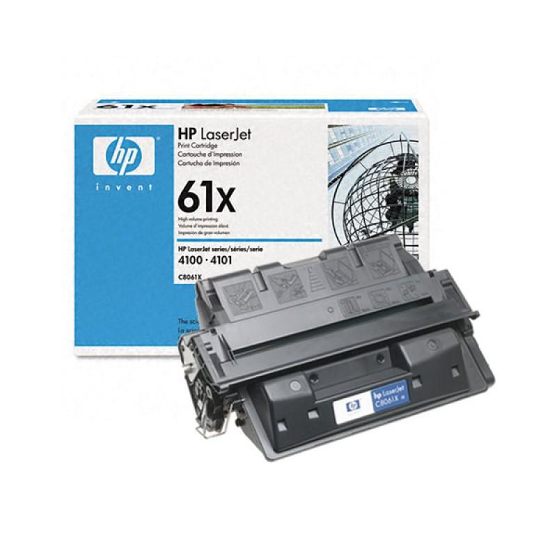 C8061X-HP 61X High Yield Black Original Toner Cartridge