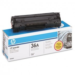 CB436A-HP 36A Black Original Toner Cartridge