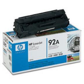 C4092A-HP 92A Black Original Toner Cartridge