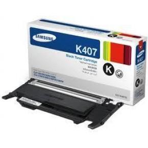CLTK407S-Samsung CLT407S Black Original Toner Cartridge