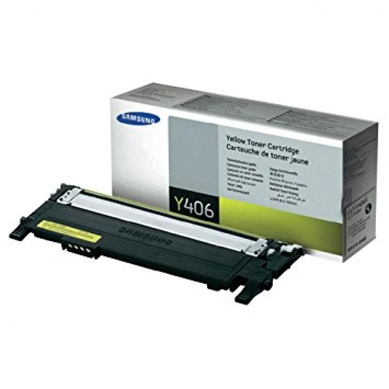 CLTY406S-Samsung CLT406 Yellow Original Toner Cartridge